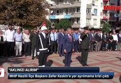 MHP ilçe yöneticileri kültür müdürünü hastanelik etti