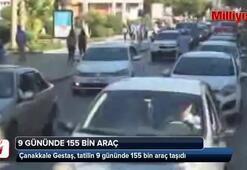 Gestaş, tatilin 9 gününde 155 bin araç taşıdı