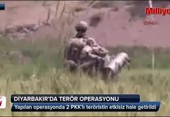 Licede 1i ölü 2 PKKlı terörist ele geçirildi