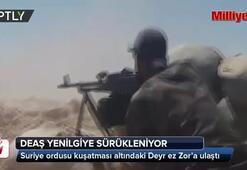 Suriyede rejime bağlı ordu birlikleri Deyr ez Zora ulaştı