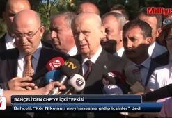 MHP Genel Başkanı Bahçeli'den şehitlikte içki içilmesine sert tepki