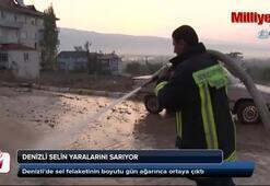 Sel felaketinin boyutu gün ağarınca ortaya çıktı