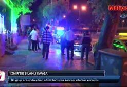 İzmirde silahlı kavga: 1i ağır 2 yaralı