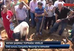Ünlü Sunucu Vatan Şaşmaz, Çengelköy Mezarlığı'na defnedildi