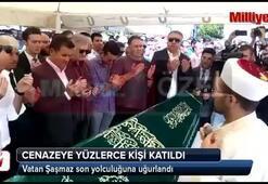 Vatan Şaşmazın cenazesine yüzlerce kişi katıldı