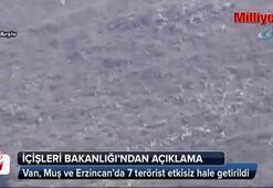 7 terörist etkisiz hale getirildi