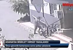Adana'da bisiklet hırsızı yakalandı