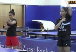 Masa Tenisi yıldız ve genç takımları Nevşehir'de kampa girdi