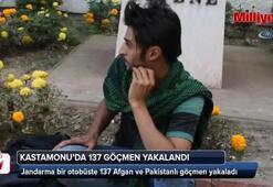 137 Afgan ve Pakistanlı göçmen yakaladı