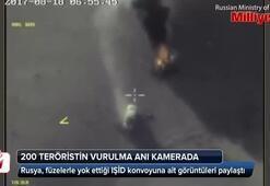 200 teröristin vurulma anı