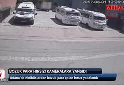 Minibüslerden bozuk para çalan hırsız yakalandı