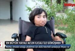 Engelli kızın tek hayali Acun Ilıcalı ile görüşmek