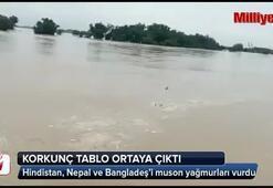 Güney Asya ülkelerini musun yağmurları vurdu