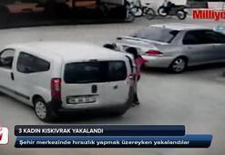 Hırsız çetesi kıskıvrak yakalandı