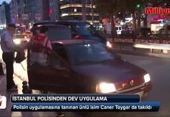 İstanbulda 5 bin polisle asayiş uygulaması yapıldı