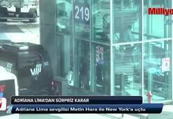 Adriana Lima, sevgilisi Metin Hara ile New York'a gitti