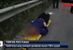 TEMde feci kaza: 4 ölü 1 yaralı
