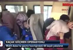 Ayvacıkta 44 kaçak yakalandı