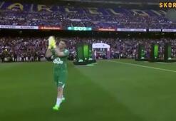 Camp Nouda duygu dolu anlar Messi, Suarez, Arda...