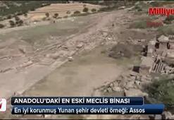 Anadoludaki en iyi korunmuş Yunan şehir devleti örneği: Assos
