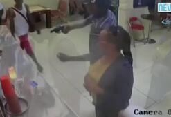 Restoranı böyle soydular