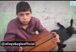 Türkiyenin gündemine oturan çocuk Ali Eyüboğluna konuştu
