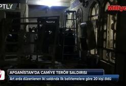 Afganistanda camiye terör saldırısı