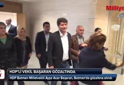 HDPli vekil gözaltına alındı