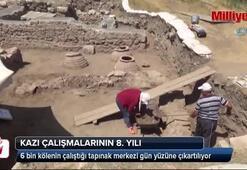 6 bin kölenin çalıştığı tapınak merkezi gün yüzüne çıkartılıyor