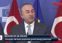 Çavuşoğlu: AB darbe girişiminde gerekli desteği göstermedi