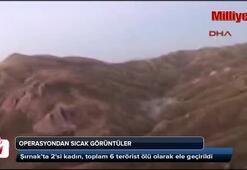 TSK: 6 terörist ölü ele geçirildi