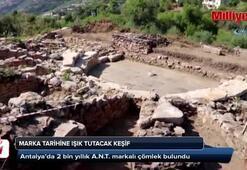 Antalyada marka tarihine ışık tutacak keşif