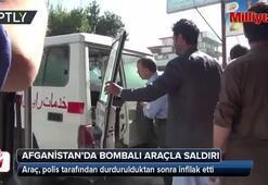 Afganistanda bombalı araçla saldırı
