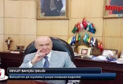 Devlet Bahçelinin yeni tarzı sosyal medyada beğenildi
