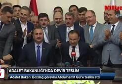 Adalet Bakanı Bozdağ görevini Abdulhamit Gül'e teslim etti