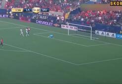Manchester United, Los Angeles Galaxyyi darmadağın etti