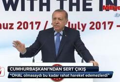 Cumhurbaşkanı Erdoğandan OHAL cevabı