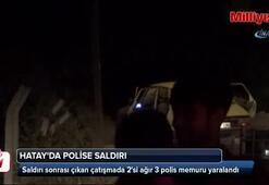 Hatayda polise saldırı