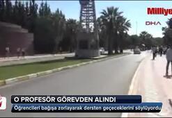 Ege Üniversitesindeki o profesör görevden alındı