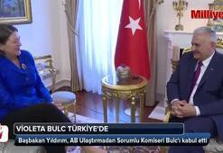 Başbakan Yıldırım, AB Ulaştırma Komiseri Bulcu kabul etti