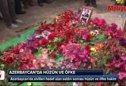 Azerbaycan'da sivilleri hedef alan saldırı sonrası hüzün ve öfke hakim