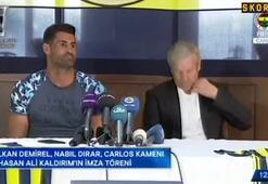 Fenerbahçeli oyuncular imzaları attı