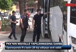 Adana'da PKK'nın mahalle yapılanmasına darbe