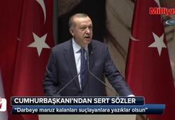 Cumhurbaşkanı Erdoğan: Yazıklar olsun