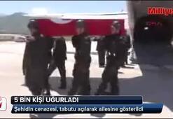 Şehit Astsubay Ağılı 5 bin kişi uğurladı