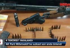 Yakalanan 4 PKKlının saldırı planı ortaya çıktı
