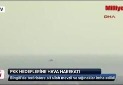 Bingöl Yayladere kırsalındaki PKK hedeflerine hava harekatı