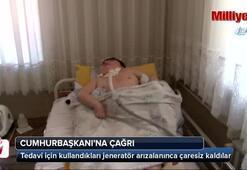 Acılı anne, yatağa mahkum oğlu için Cumhurbaşkanına çağrı yaptı