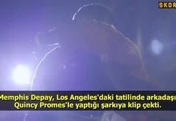 Memphis Depayı şarkısına klip çekti