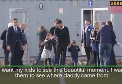 Barcelonanın yıldızı Luiz Suarez gözyaşlarını tutamadı